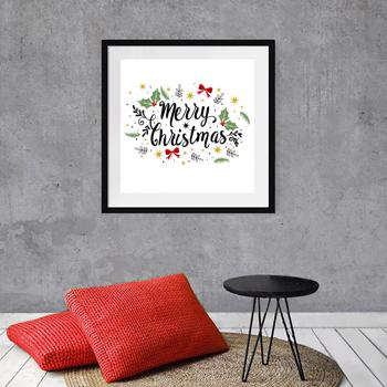 Merry Christmas Wall Print