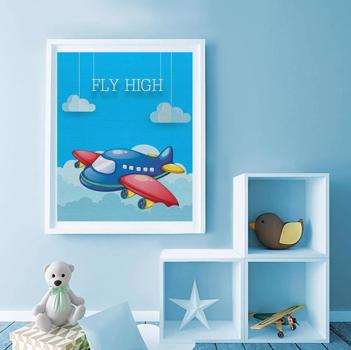 Fly High Airplane