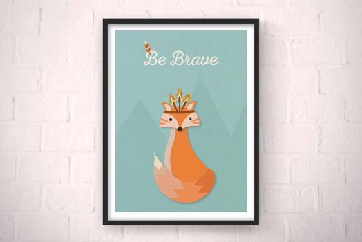 Be Brave Decor